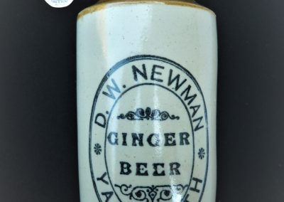 Newman ginger beer bottle