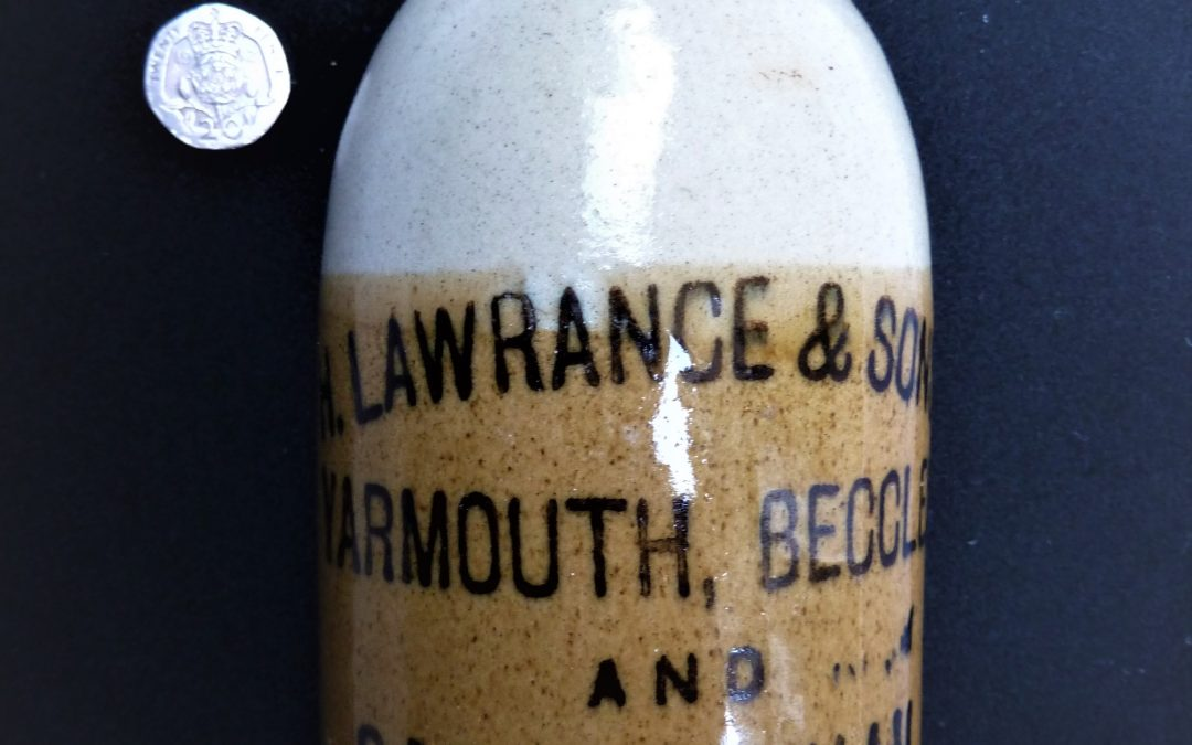 Lawrance ginger beer bottle