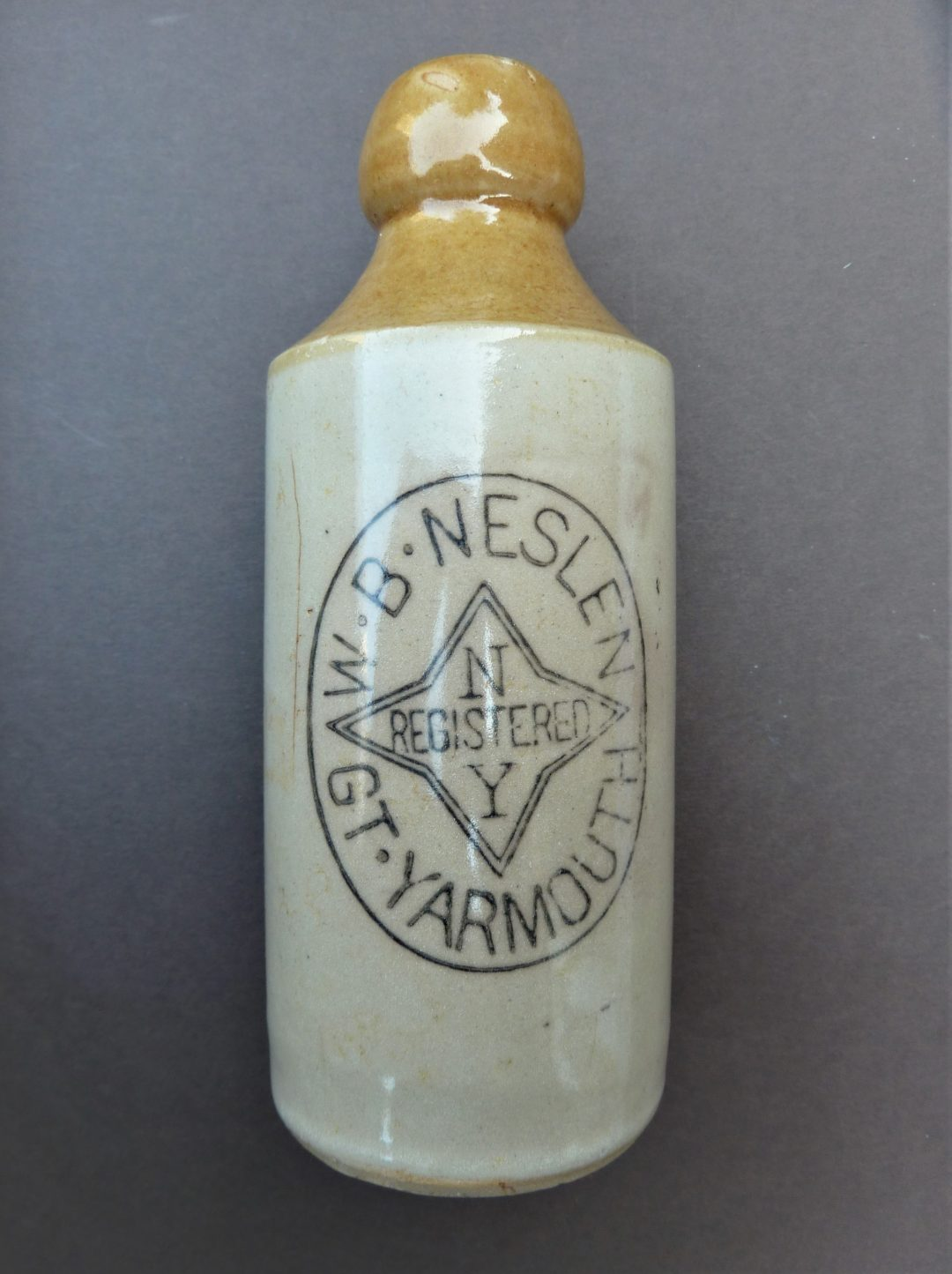 Neslen ginger beer bottle