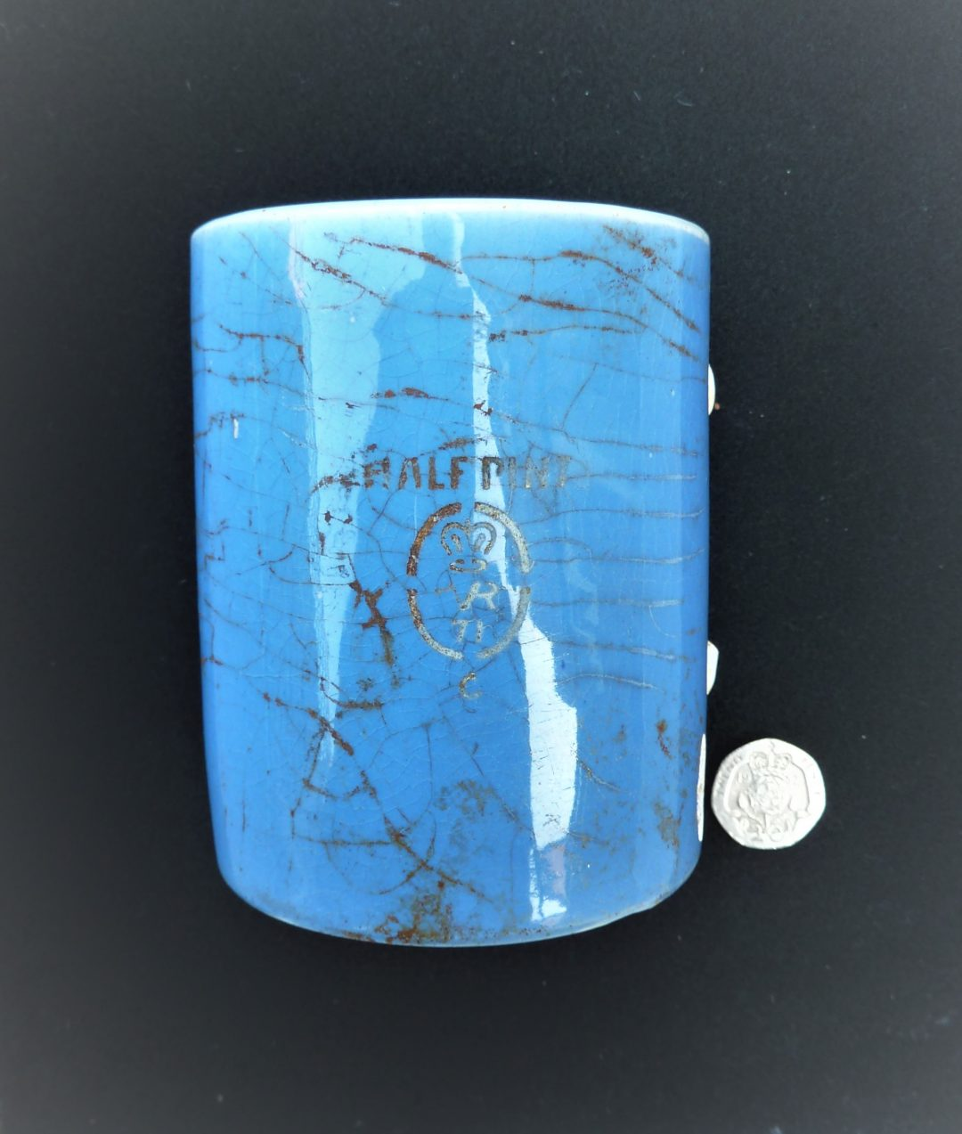 Half-pint pub mug
