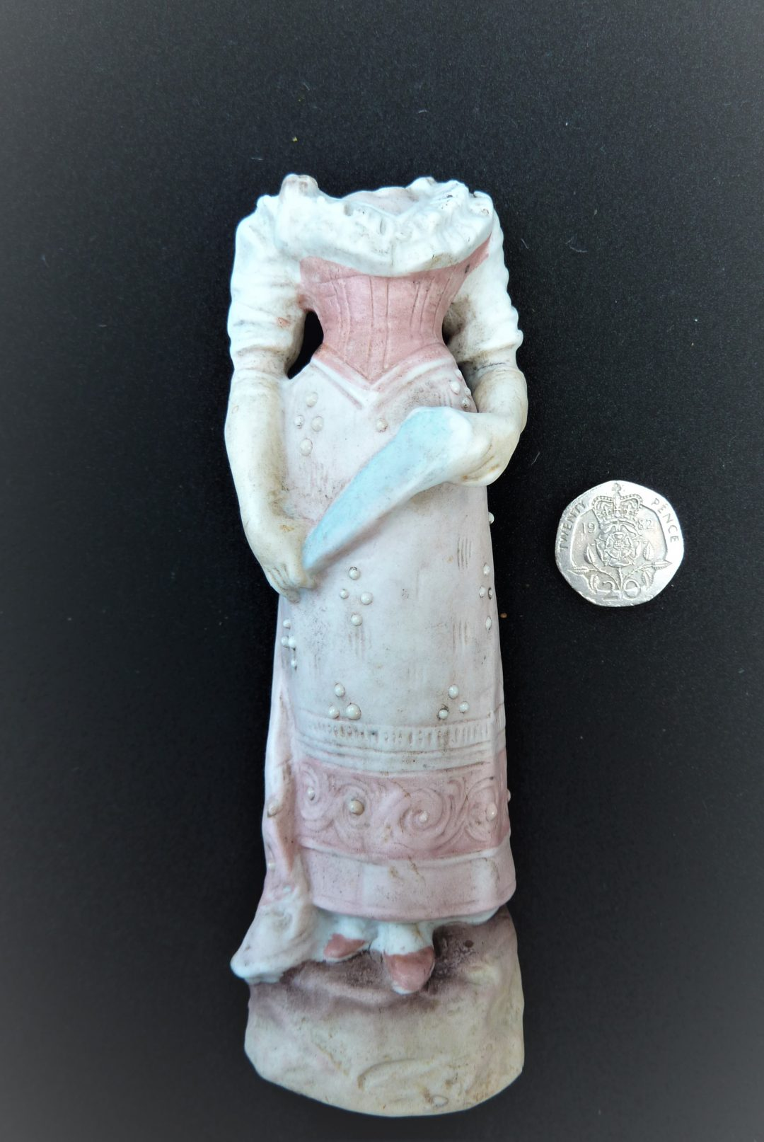 Statue of woman in eastern European dress