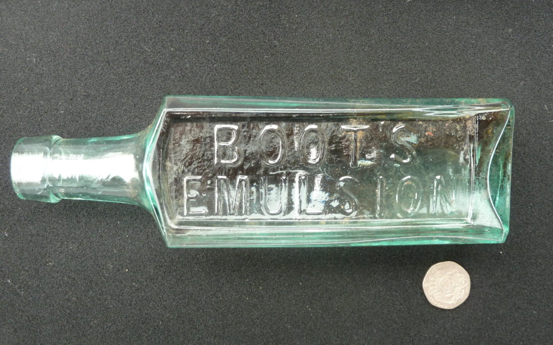 Boot's Emulsion bottle