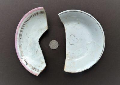 Ceramic saucers