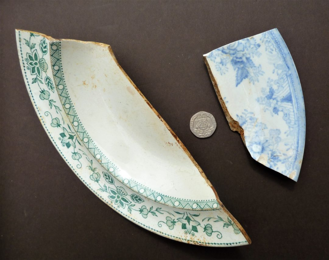 Plate fragments