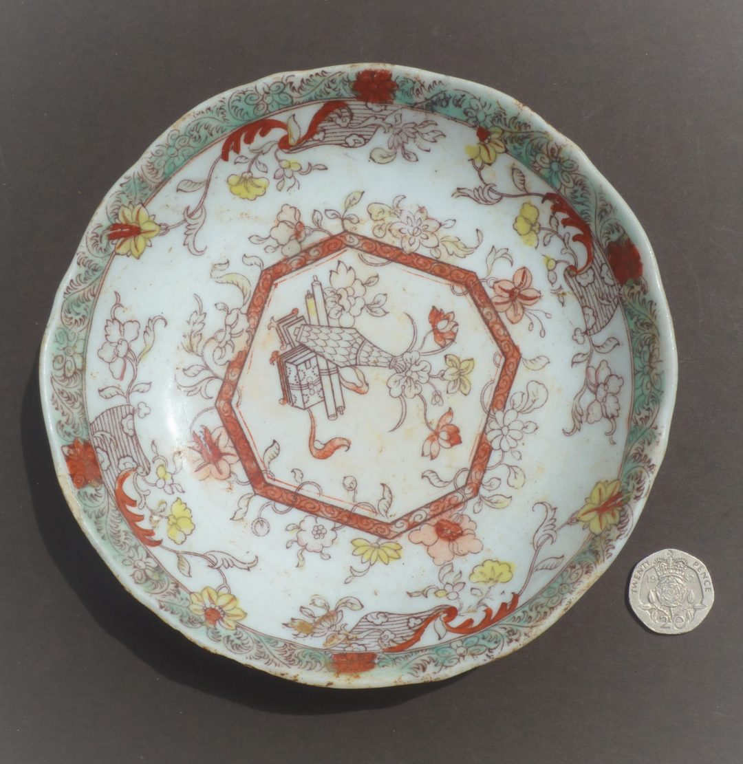 Chinoiserie saucer